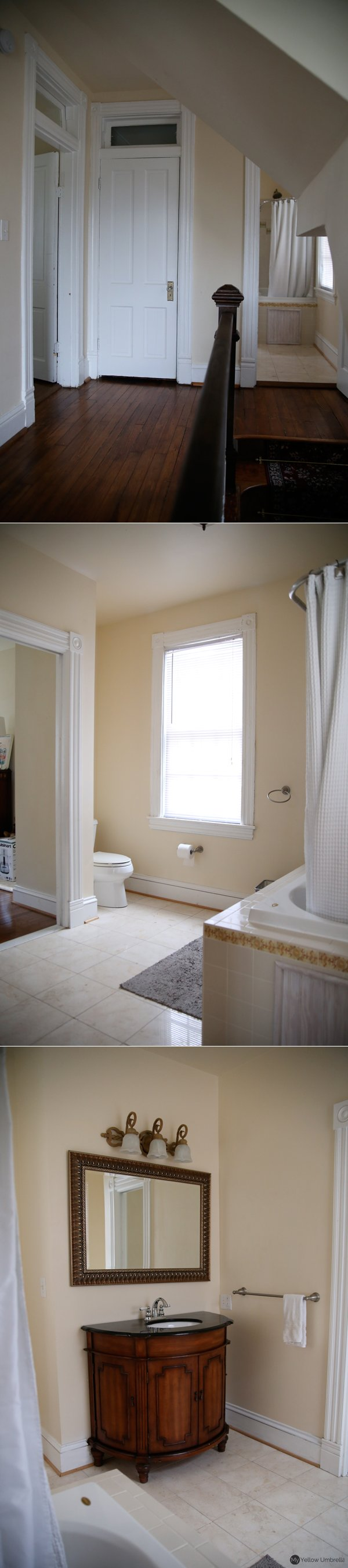 House Tour - Upstairs Bath