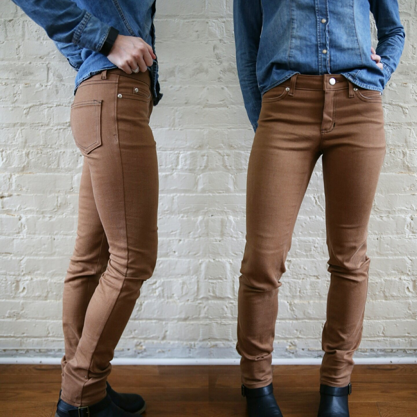 Ginger Jeans pattern by Closet Case Files