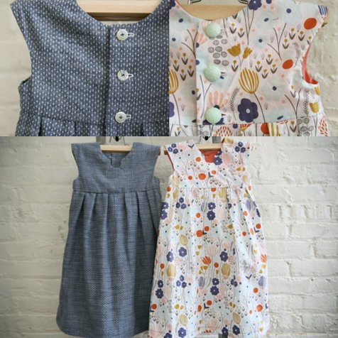 Geranium Dress Pattern by Made by Rae