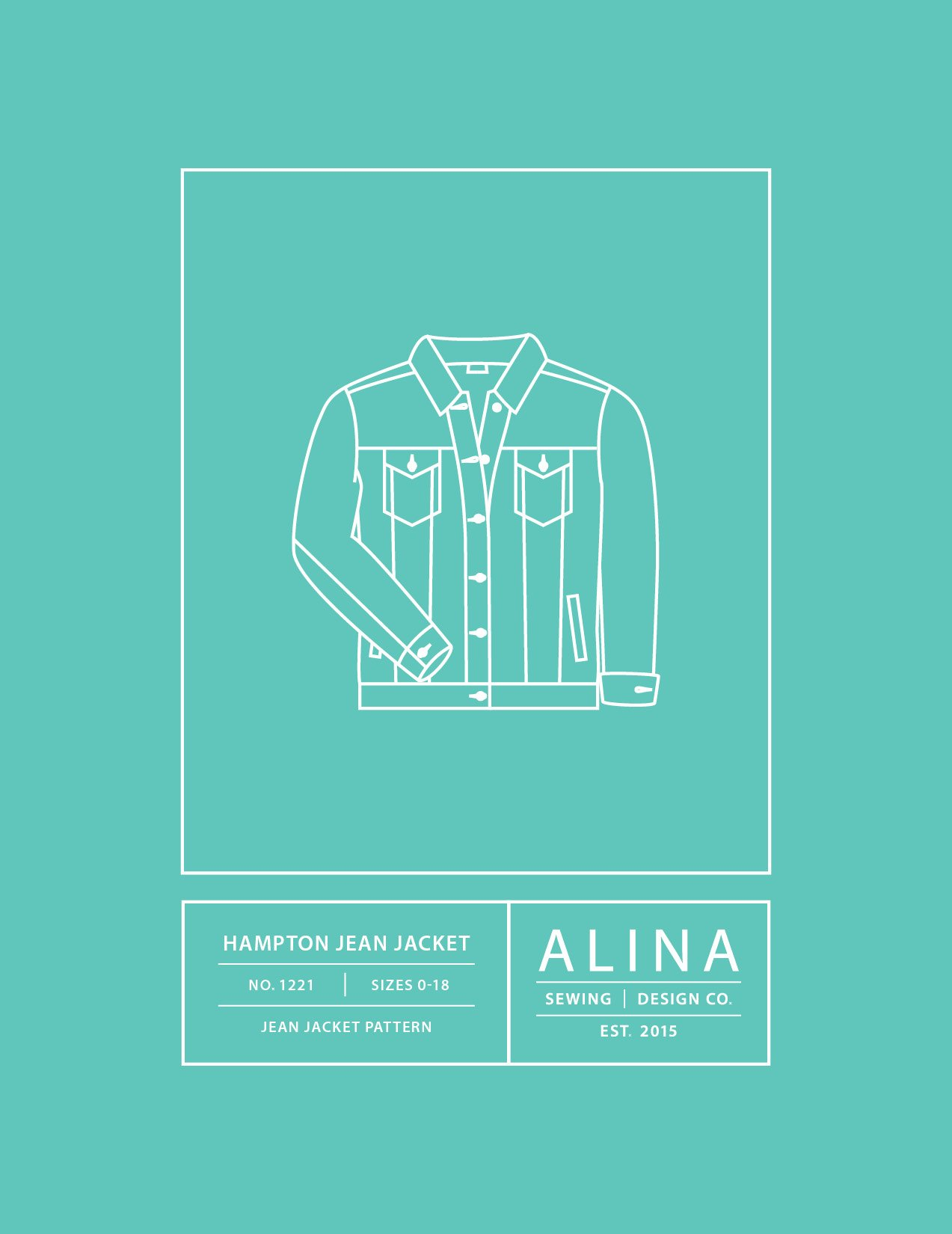 Hampton Jean Jacket Alina Sewing Design Co