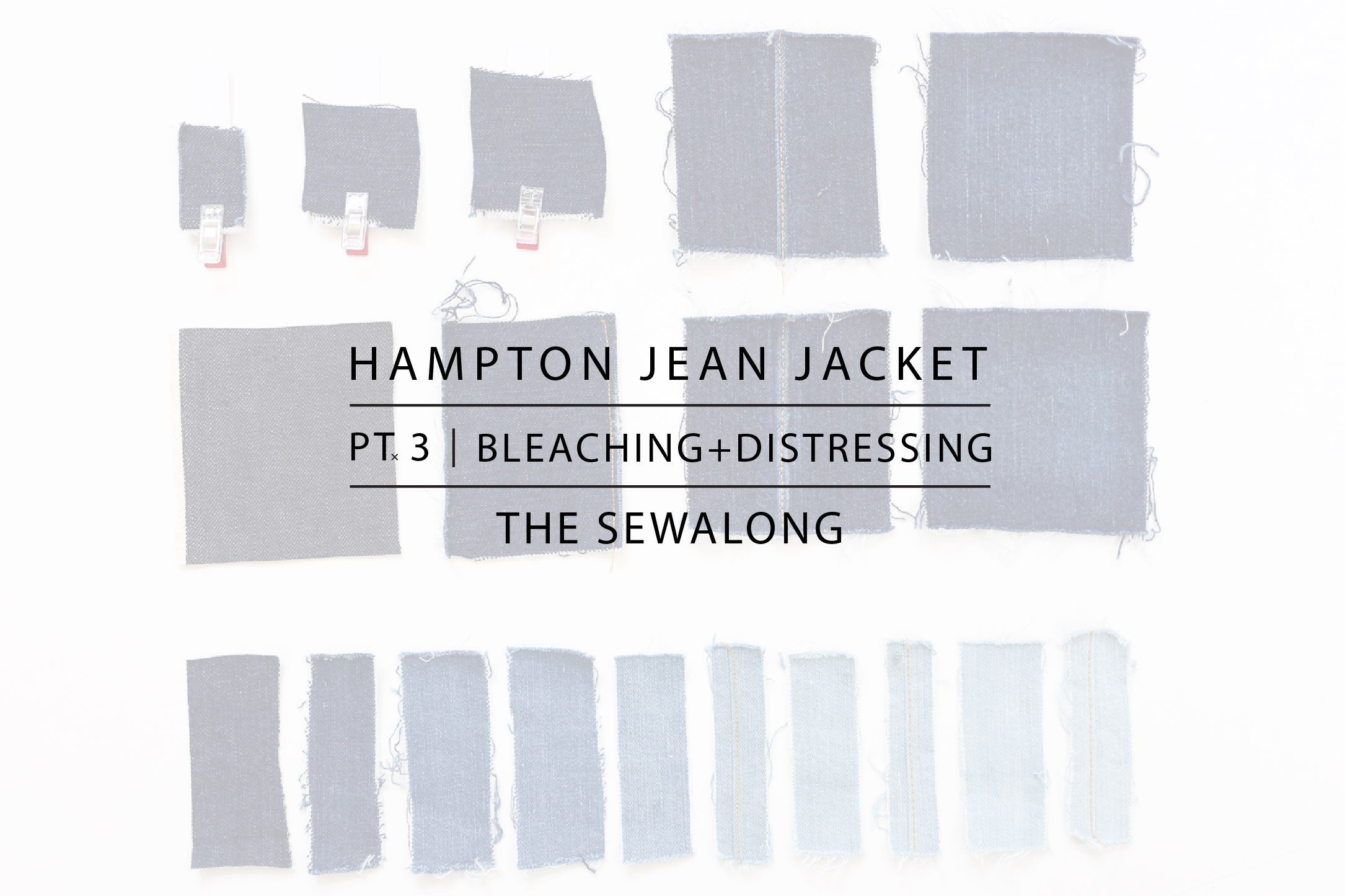 Hampton Jean Jacket Sewalong Pt. 3