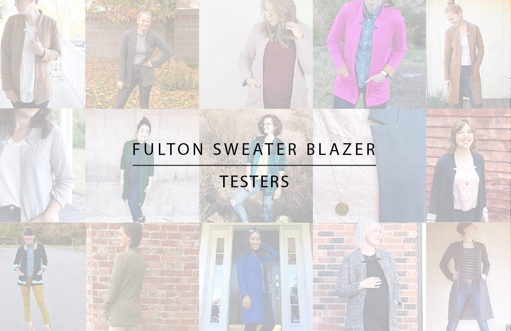 Fulton Sweater Blazer: Tester Photos