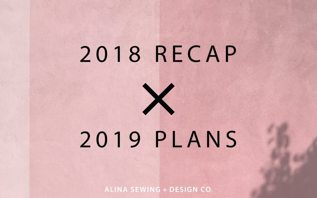 2018 Recap + 2019 Plans