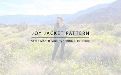 Joy Jacket | Style Maker Fabrics Spring Style Tour 2019